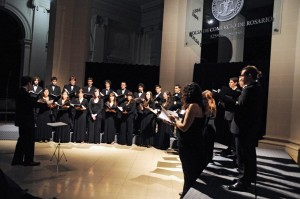 Coro de Cámara de Rosario (Argentina). Dir. Elio Alejandro Allegra